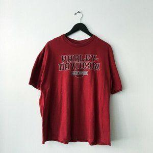 Harley Davidson Las Vegas Nevada Graphic Tee Shirt